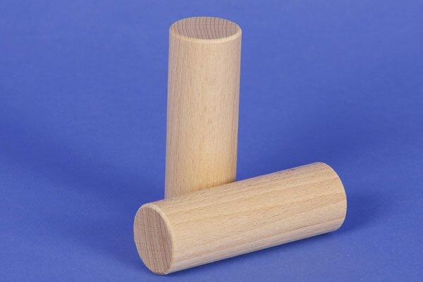 bloc de construction en bois rond Ø 3 x 9 cm