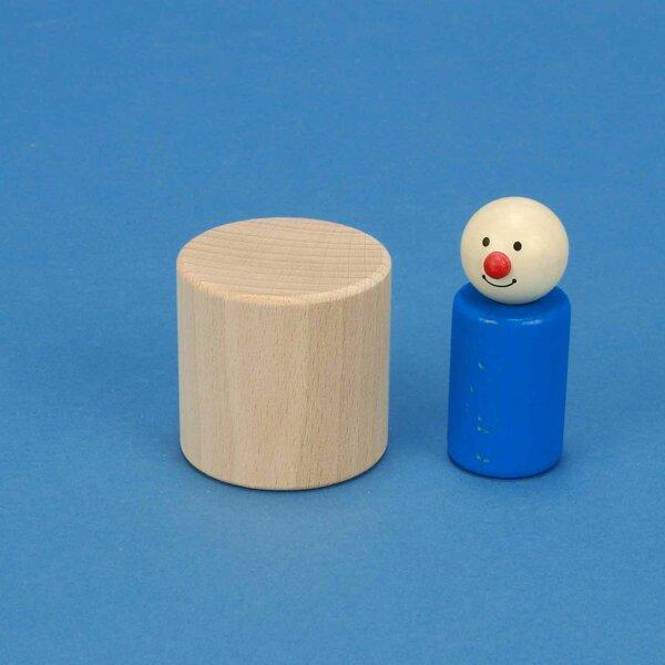 Holzzylinder Buche Ø 5 x 5 cm
