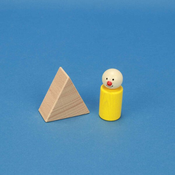 Dreieck-Säule 6 x 6 x 3 cm gleichschenklig