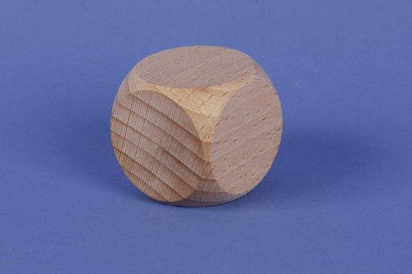 houten kubus blokken 2,5 cm