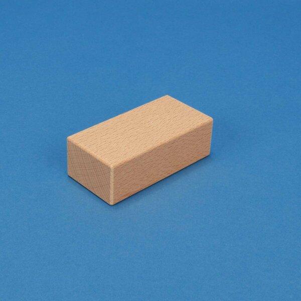 Motiv-Stempelholz aus Buche 9 x 4,5 x 3 cm