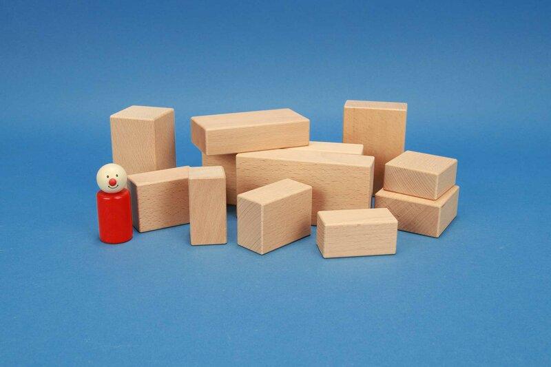 wooden cuboid