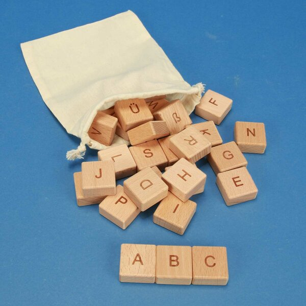 ABC-wooden blocks 30 pieces