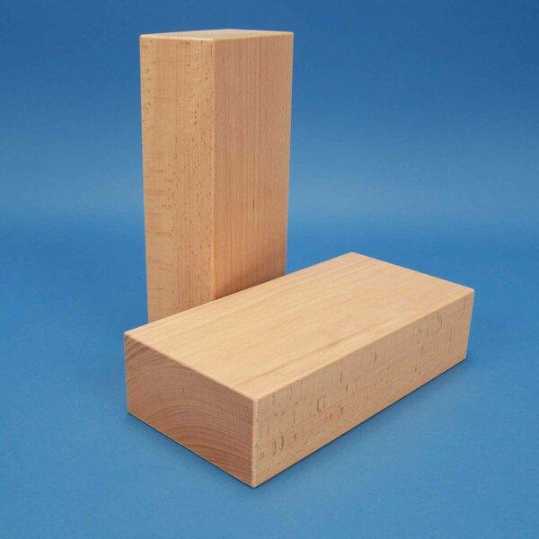 cubes de construction en bois grands 24 x 12 x 6 cm