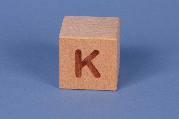Cubes en lettres K positive