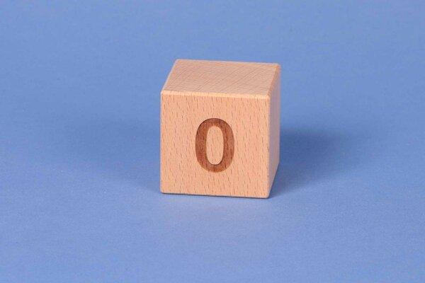 Cubes en lettres 0 positive