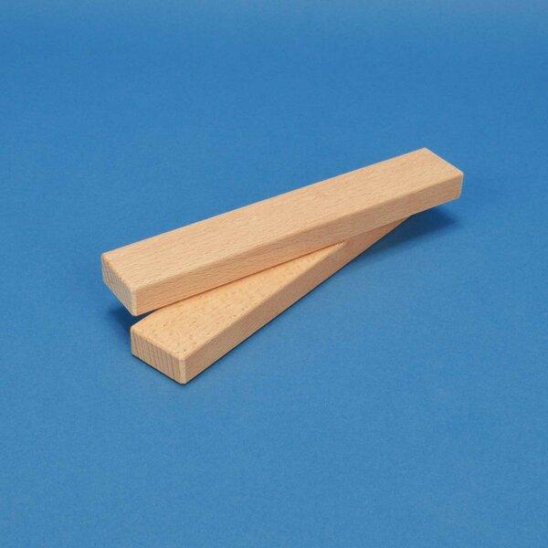 blocs de construction en bois 18 x 3 x 1,5 cm