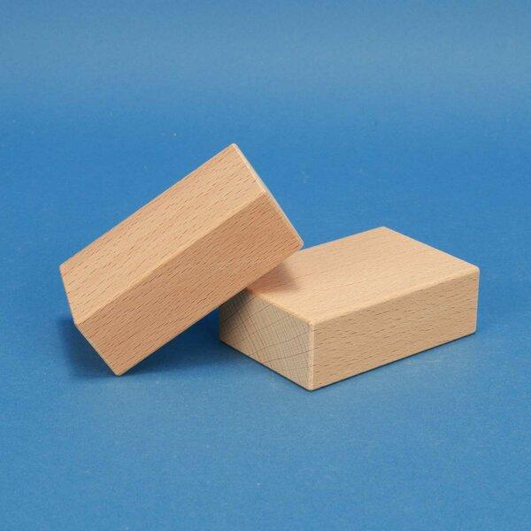 fröbel cubes en bois 9 x 6 x 3 cm