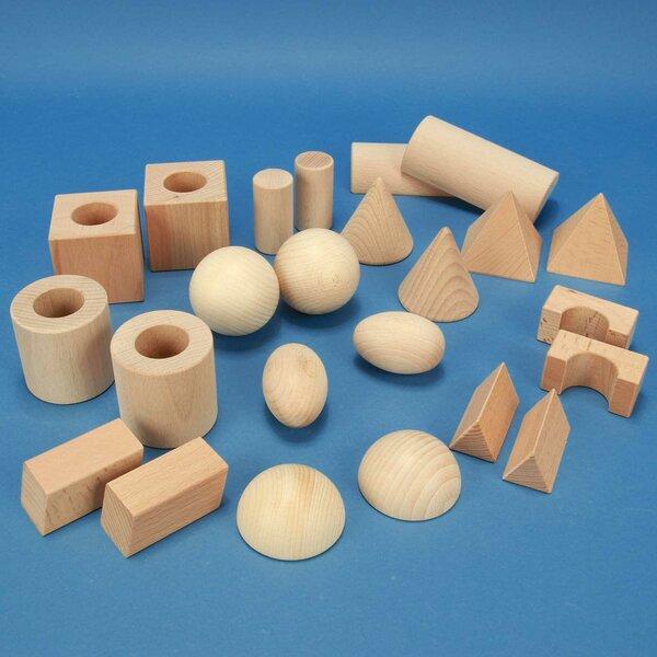 """geometric solids school-class-set """"Klett"""""""