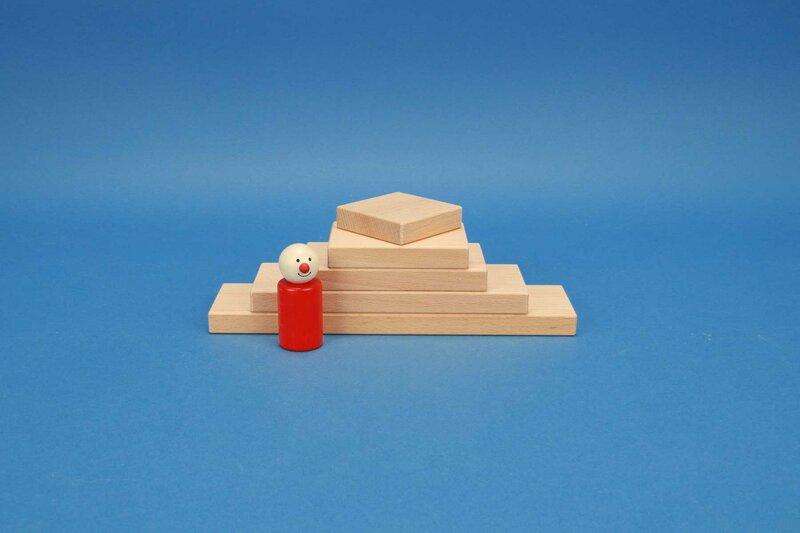 blocs rectangulaire 6 x 1,5 cm