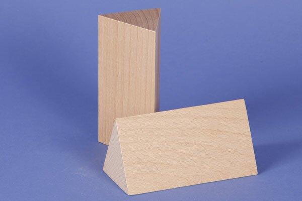 colonnes triangulaires 6 x 6 x 12 cm isocèle