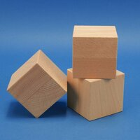 Holzwürfel 10 cm aus Buche