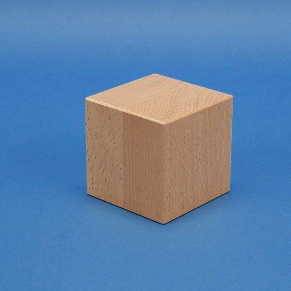 houten kubus blokken 8 cm