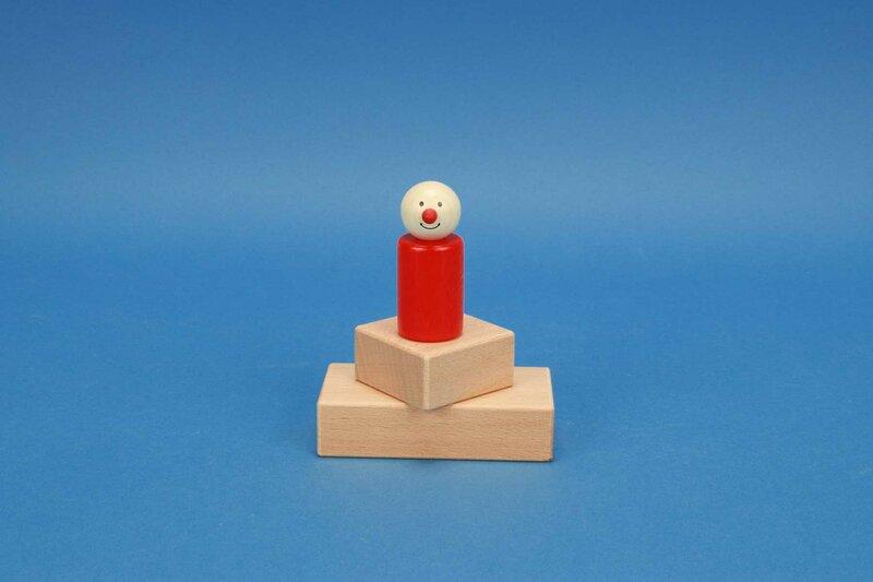 cubes en bois 5 x 2,5 cm