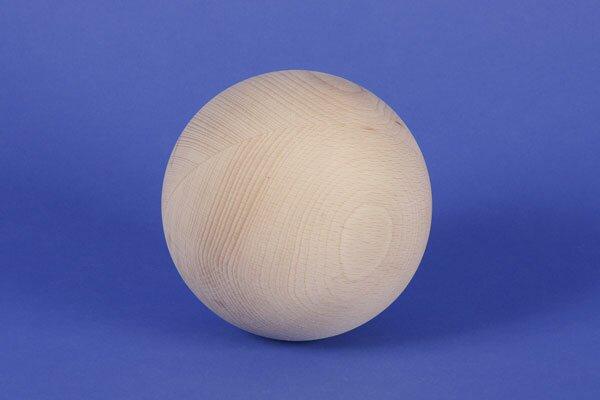 Sphères en bois en hetre Ø 100 mm