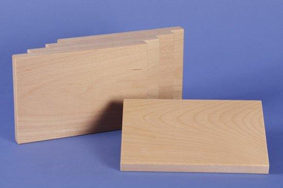 houten bouwblokken 18 x 12 x 1,5 cm