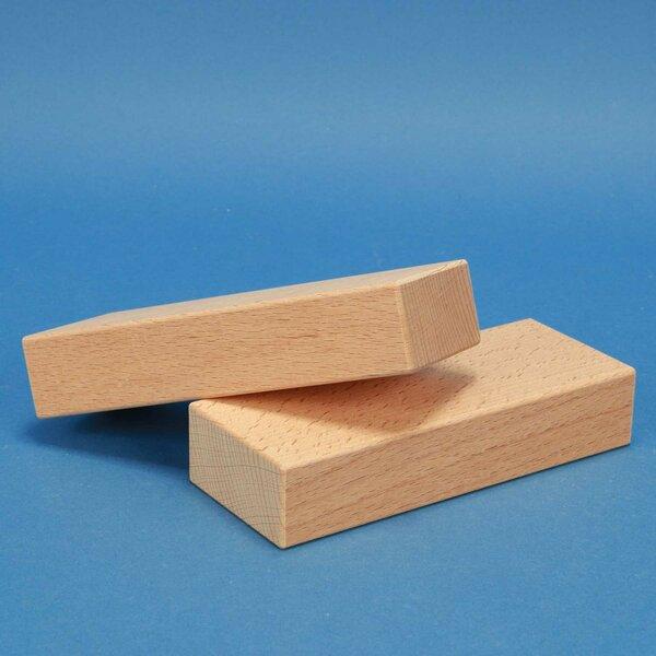 wooden building blocks 15 x 6 x 3 cm