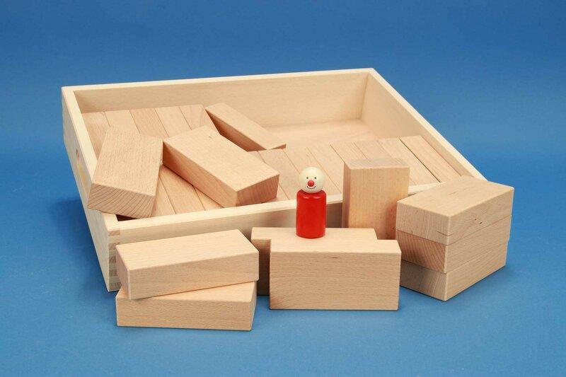 Fröbel houten blokken