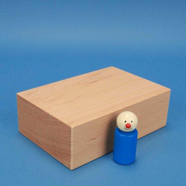 cubes de construction en bois grands 18 x 12 x 6 cm