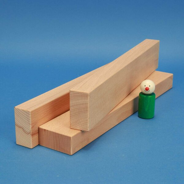 wooden blocks 36 x 6 x 3 cm