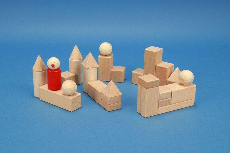 Bauklötze-Sets für Kindergarten