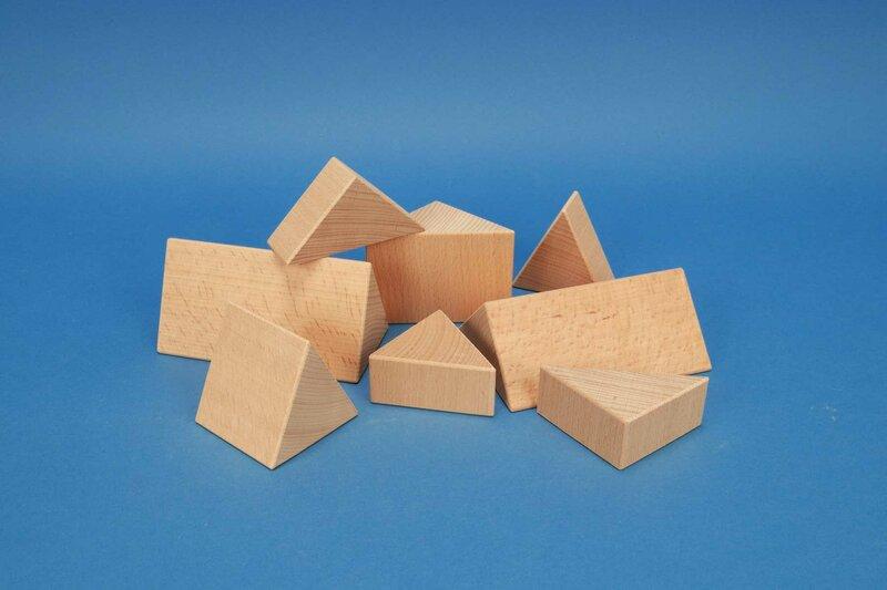 Dreieck-Säulen, Prisma 60mm