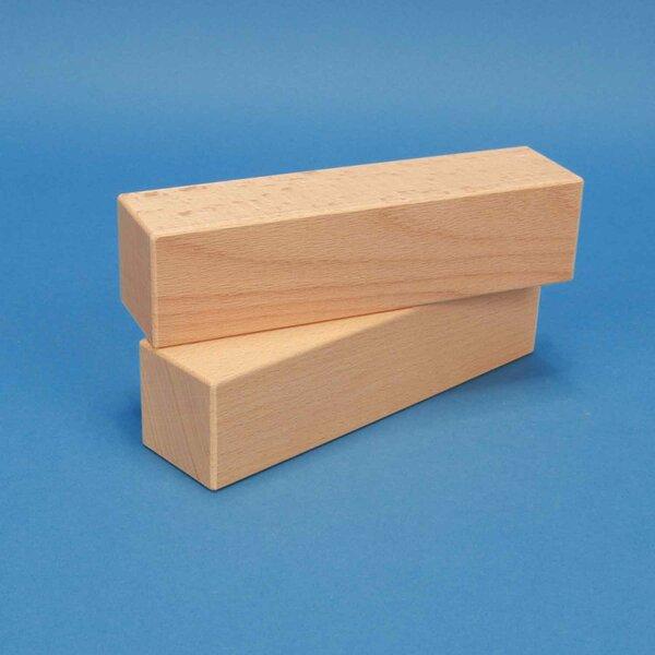 wooden building blocks 18 x 4,5 x 4,5 cm