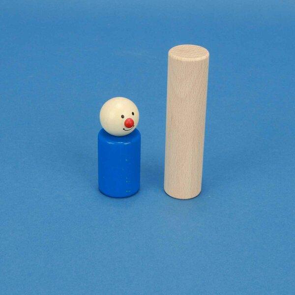 cylindres en hêtre Ø 1 inch x 4 inches