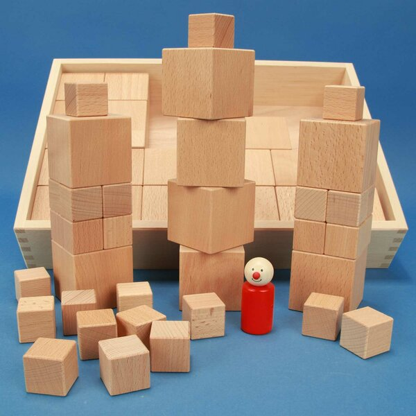 Froebel wooden blocks set 66 TS 04