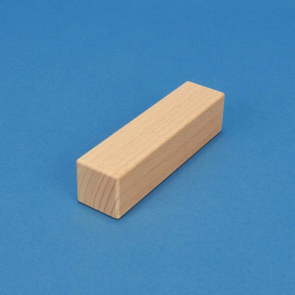 wooden building blocks 12 x 3 x 3 cm