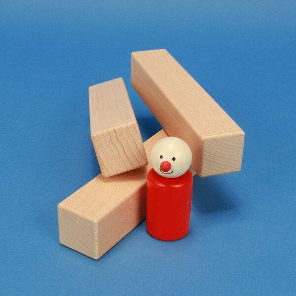 cubes en bois 150x30x30mm