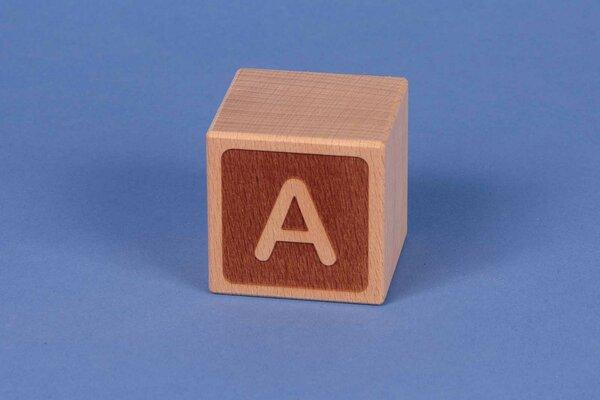 Letter cubes A negative