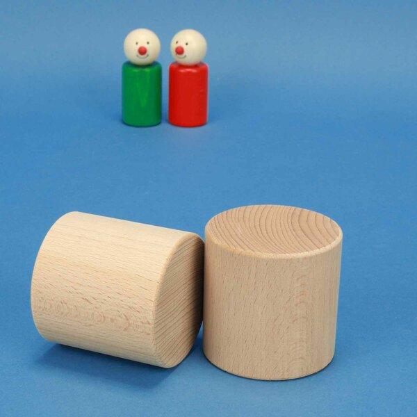 houten cilinder Ø 6 x 6 cm