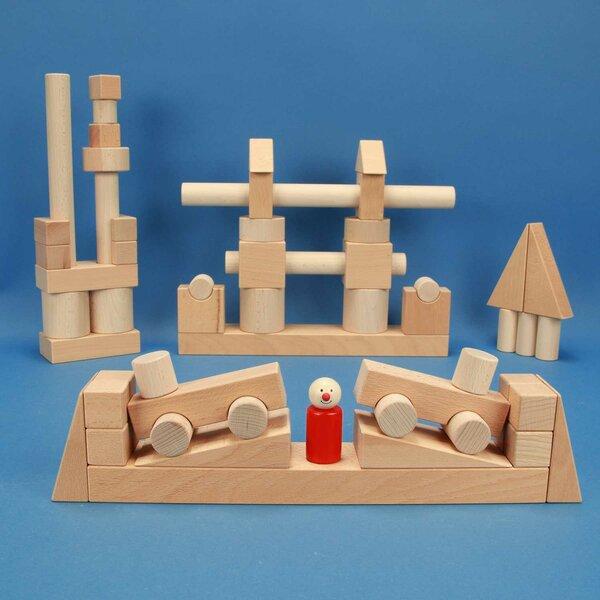 Froebel wooden block set 57 TS 01