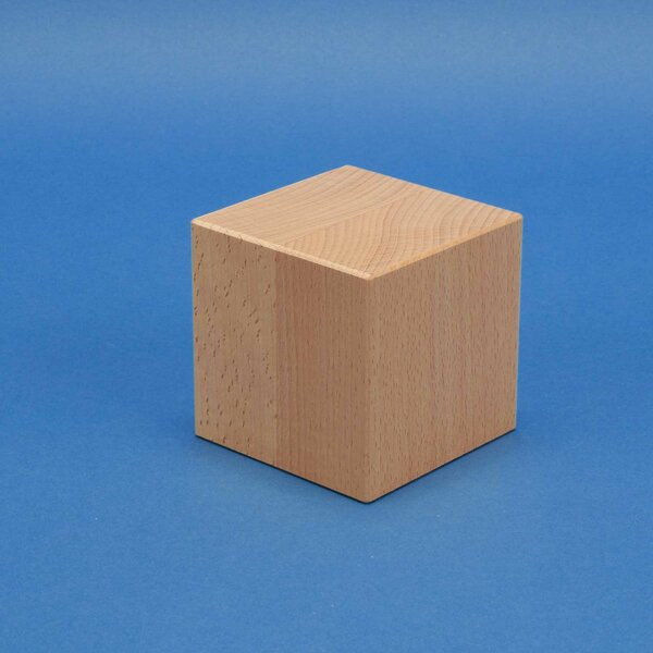 Deko-Würfel Buche 9 cm