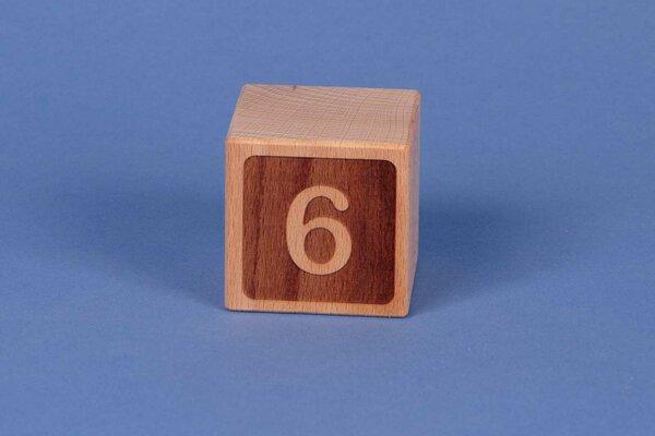 Houten naam blokken 6 negatief