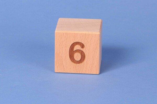 Letter cubes 6 positive
