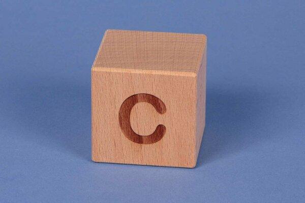 Cubes en lettres C positive