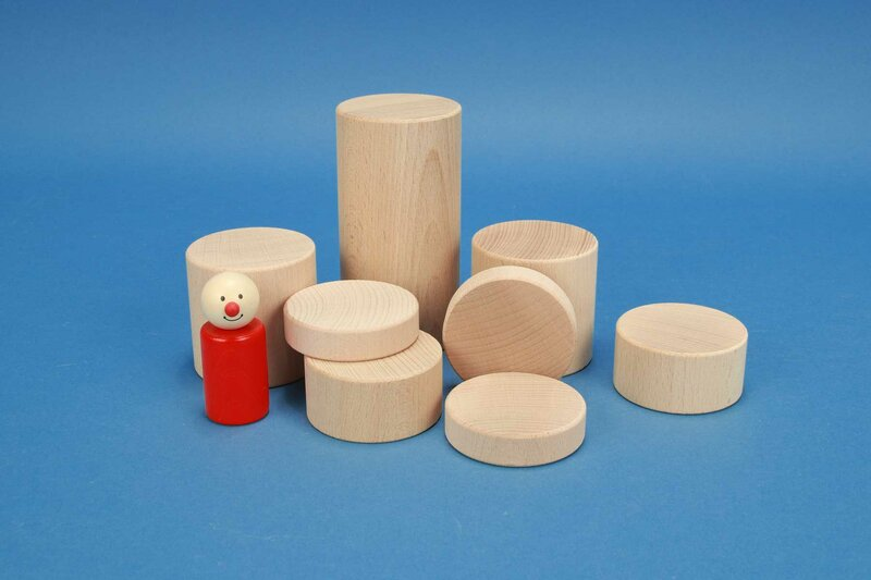 Bauklötze-Säulen 60mm rund