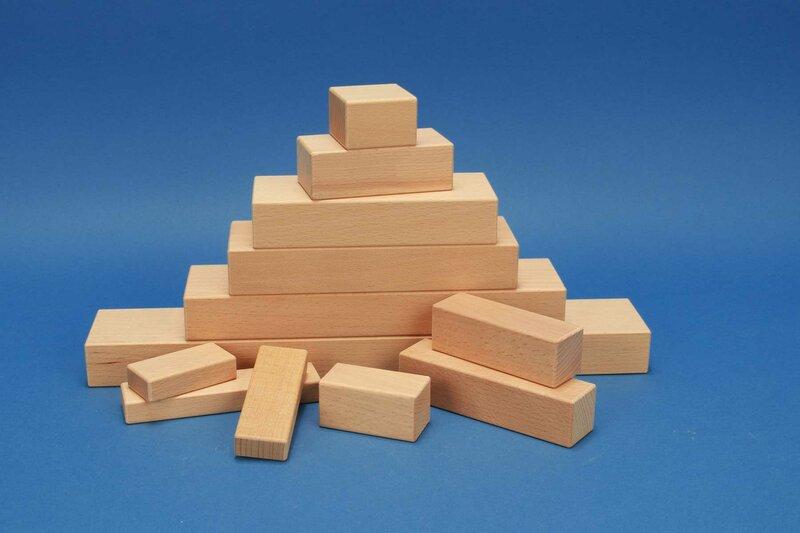 Cuboide en bois