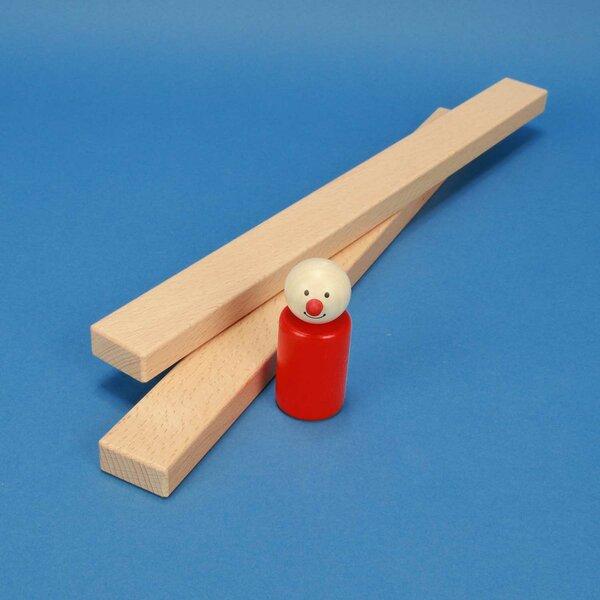 Holzbausteine 36 x 3 x 1,5 cm