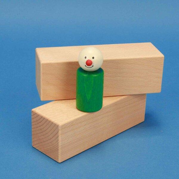 wooden blocks 13,5 x 4,5 x 4,5 cm beech