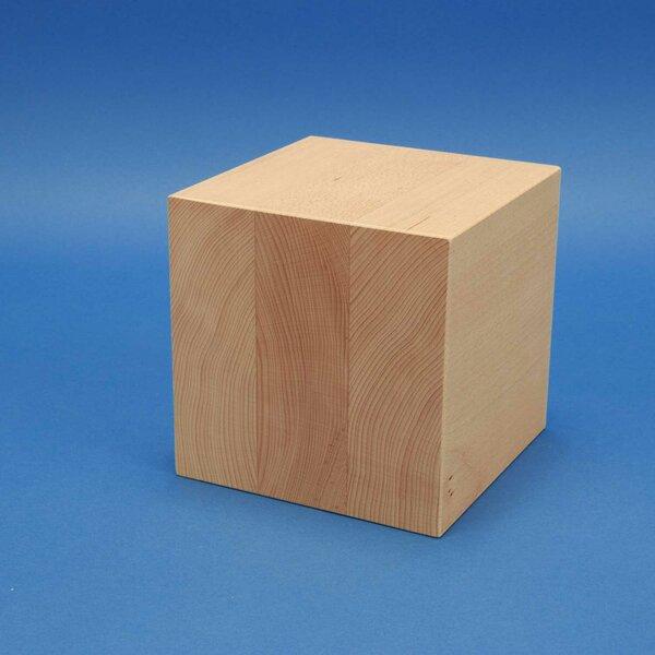 Holzwürfel 15 cm aus Buche