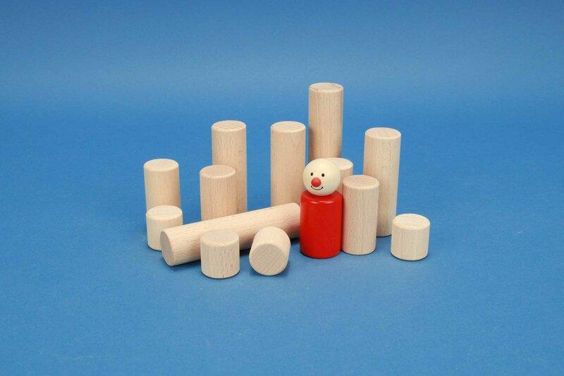 Bauklötze-Zylinder 1 inch