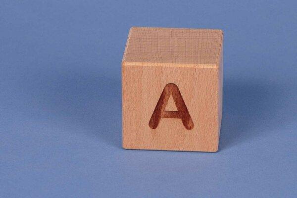 Cubes en lettres A positive