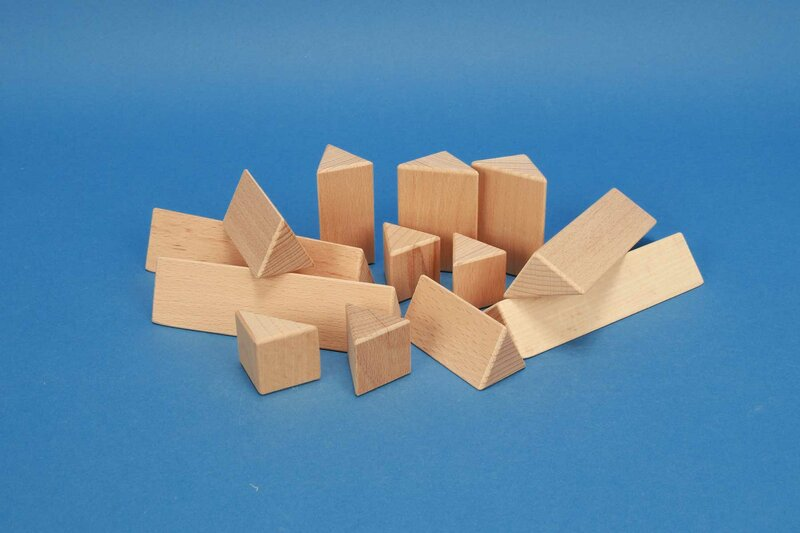 Dreieck-Säulen, Prisma 30mm
