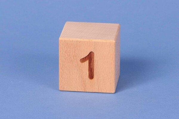 Cubes en lettres 1 positive