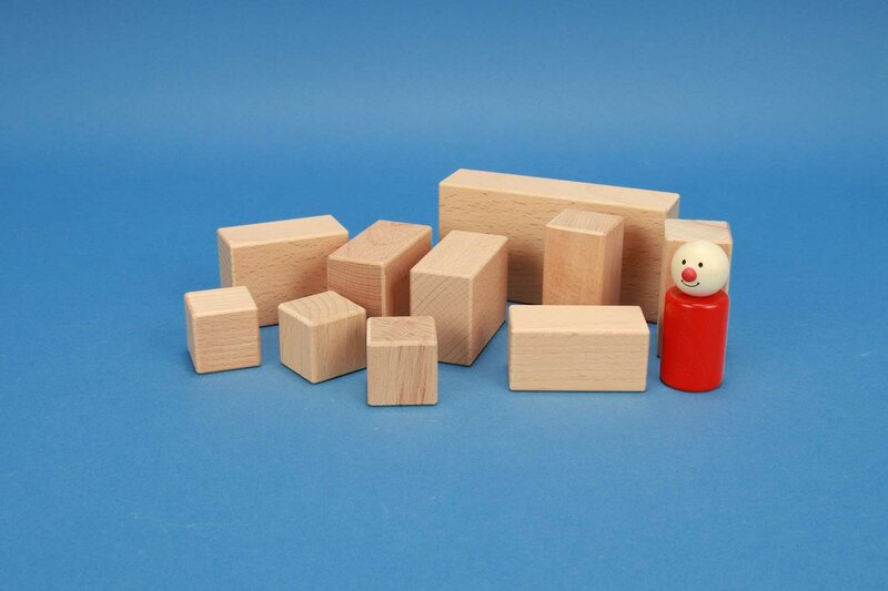 Wood stamps rectangular