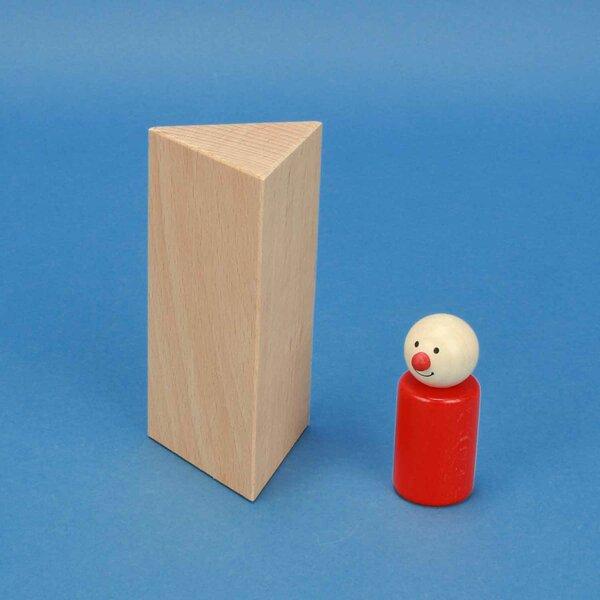 Dreieck-Säule 6 x 6 x 12 cm gleichseitig