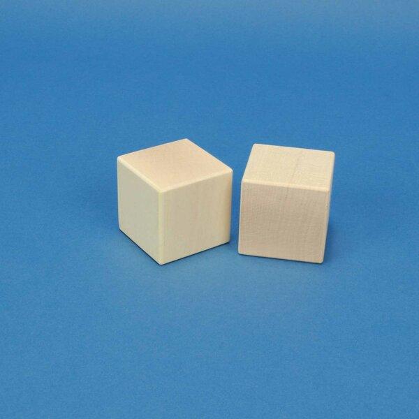 cubes en bois érable 4,5 cm